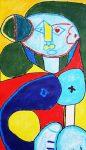 毕加索主题人物油画